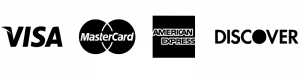 Accepted Cards: Visa, Mastercard, American Express, Discover
