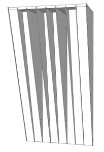 Vertical Acoustic Ramp Drawing