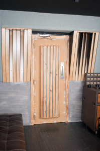 Rear Wall: Ramps and Slotted Poly