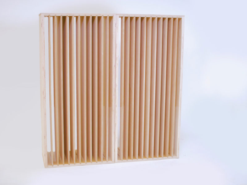 Clear-Backed Diffusers