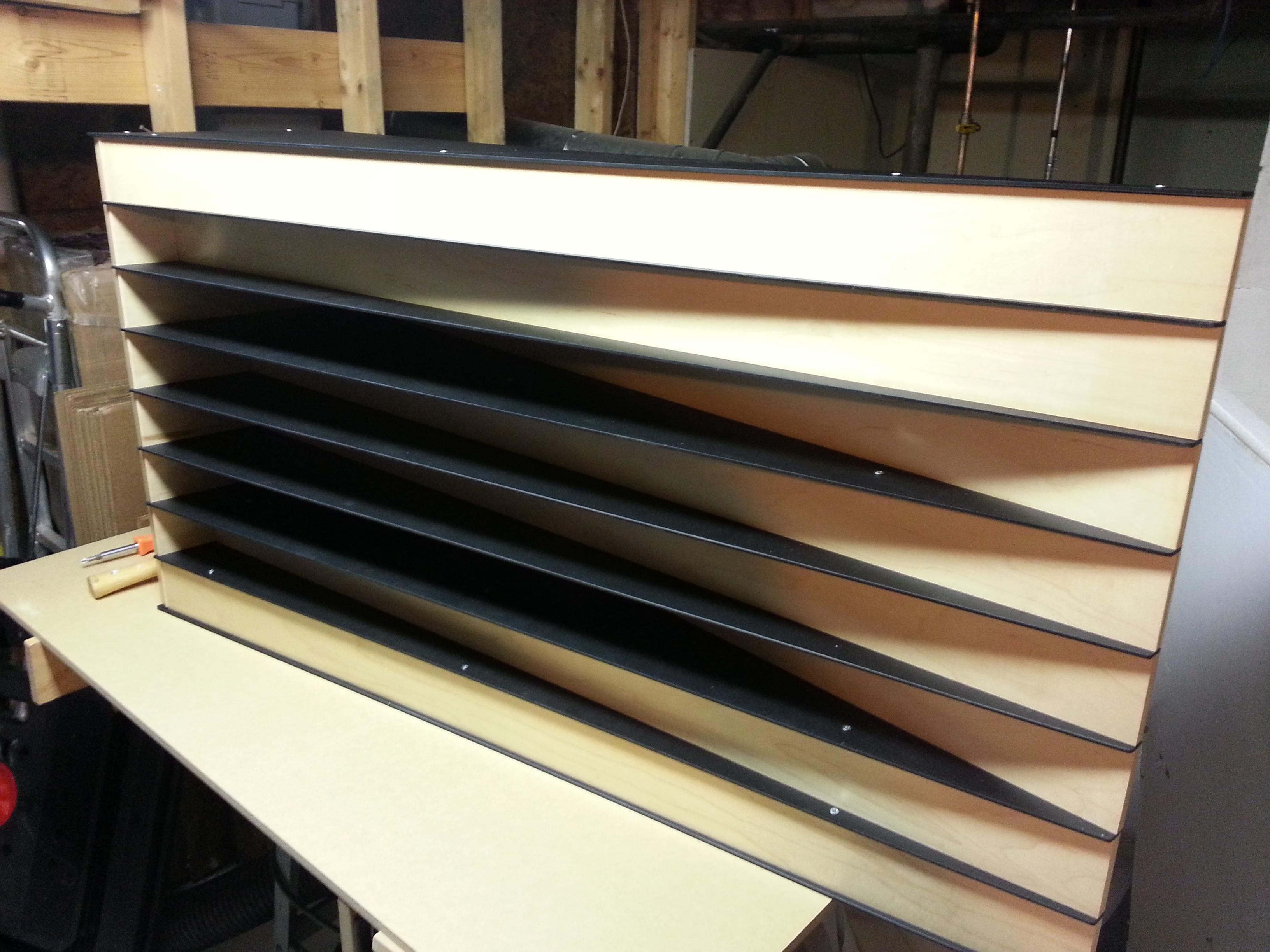 The Acoustic Ramp Diffuser Xix Acoustics